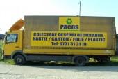 Pacos Eco Colectare va scapa de deseuri si le recicleaza