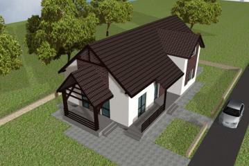 Proiectele de case mici pentru orase aglomerate