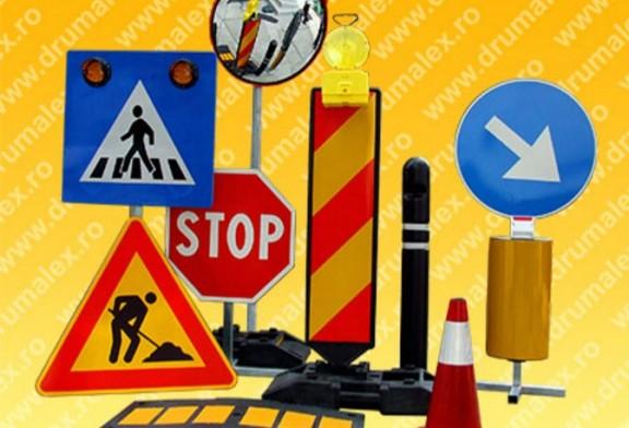 Indicatoare rutiere de la Drumalex, totul pentru siguranta romanilor