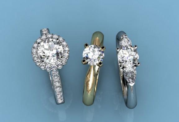 Inele de logodna cu diamant, simbol al iubirii si al dragostei eterne