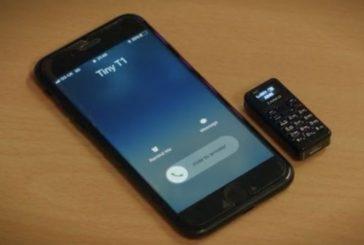 Cum arată cel mai mic telefon din lume
