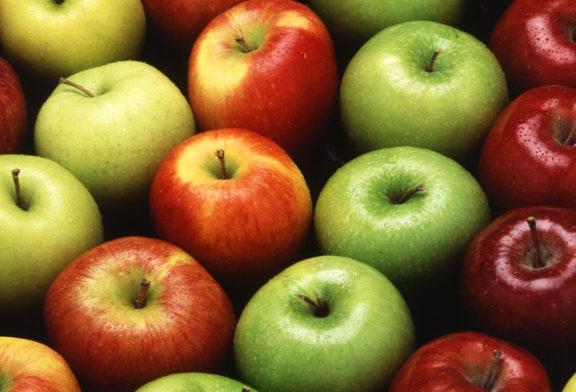 Substanță periculoasă găsită pe mere